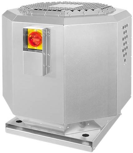 Ruck geluiddempende dakventilator voor keukenafzuiging tot 120°C  - 3670 m³/h - (DVNI 315 E2 21)
