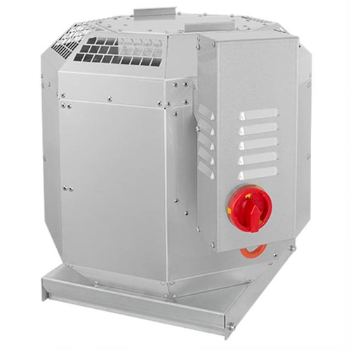 Ruck dakventilator voor keukenafzuiging tot 120°C - 400V frequentiegestuurd - 2342 m³/h (DVN 250 D2 30)