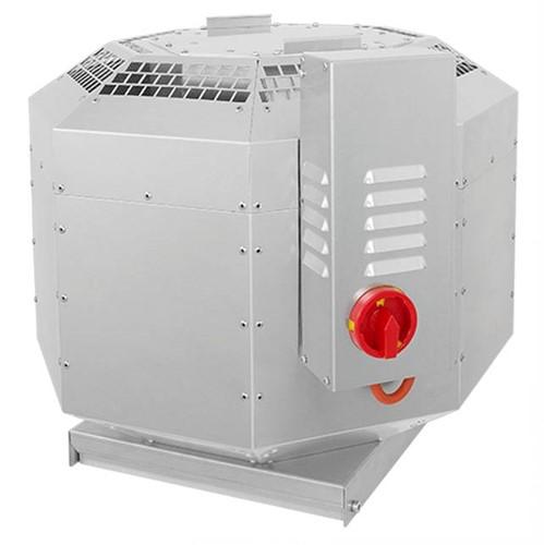 Ruck geïsoleerde dakventilator voor keukeafzuiging tot 120°C - 400V frequentiegestuurd - 3990 m³/h (DVNI 400 D4 30)