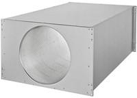 Ruck kanaal-geluiddemper 500x250 (SDE 5025 L01)