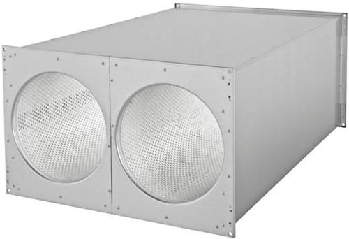 Ruck kanaal-geluiddemper 1000x500 (SDE 10050 L02)