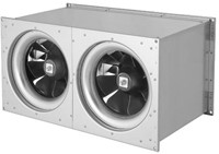 Ruck Etaline kanaalventilator 4900m³/h - 600x300 (ELKI 6030 E2 11)