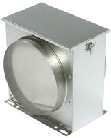 Ruck luchtfilterbox met vliesfilter Ø 315 (FV 315)