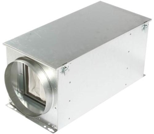 Ruck luchtfilterbox met warmteregister 100 mm (FTW 100)
