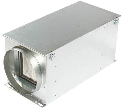 Ruck luchtfilterbox met warmteregister 125 mm (FTW 125)