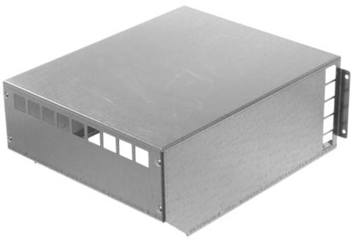 Ruck® MPS 225 - 560 weerbestendige afdekkap, gegalvaniseerd plaatstaal (WSH MPS)