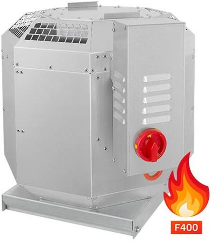 Ruck rookgas-dakventilator tot 200°C constant en 400°C tot 120 min - 1870 m³/h - DVN 225 D2 F4 30