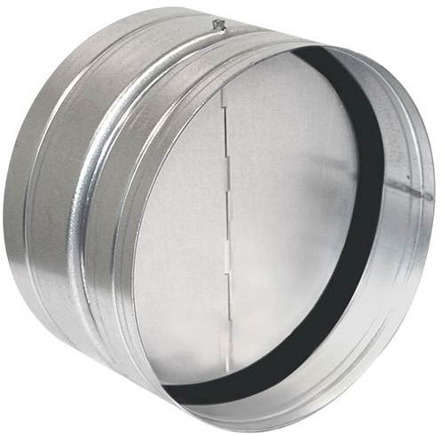 Ruck terugslagklep met afdichtingsrubber Ø 100 (RSK 100D)