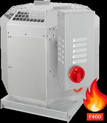 Ruck rookgas-dakventilator tot 200°C constant en 400°C tot 120 min - 14350 m³/h - DVN 630 D4 F4 30