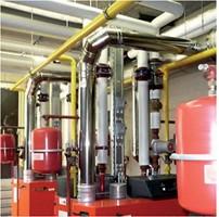 RVS cascade rookgasafvoersystemen