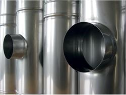 RVS half CLV rookgasafvoersystemen