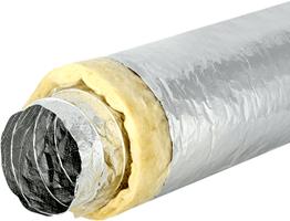 Sonodec akoestisch geïsoleerde ventilatieslang 10 meter