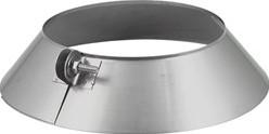 Stormkraag diameter  350 mm I304 (D0,6)