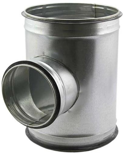 Spiro-SAFE t-stuk diameter 400 mm - 200 mm (90 graden) (sendz. verz.)