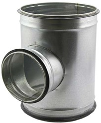 Spiro-SAFE t-stuk diameter 80 mm - 80 mm (90 graden) (sendz. verz.)