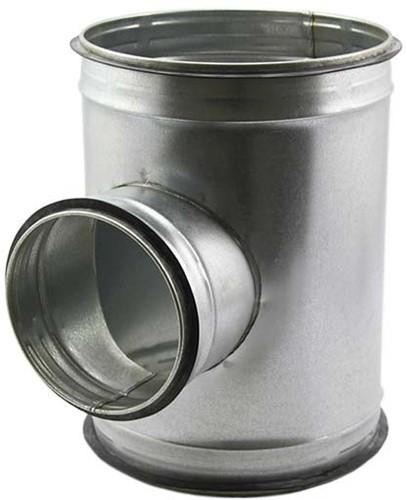 Spiro-SAFE t-stuk diameter 100 mm - 80 mm (90 graden) (sendz. verz.)
