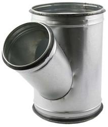 Spiro-SAFE t-stuk 80 mm – 80 mm (45 graden) (sendz. verz.)
