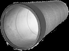 Thermoduct geïsoleerde ventilatiebuizen