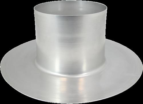 Thermoduct aluminium plakplaat diameter 125 mm