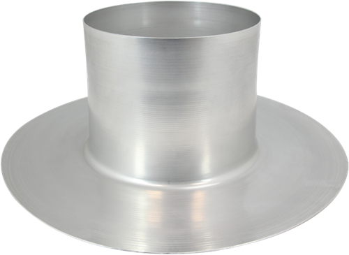 Thermoduct aluminium plakplaat diameter 180 mm