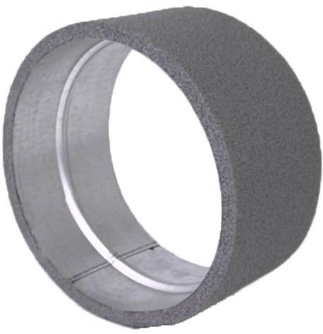 Thermoduct verbindingsmof voor hulpstukken diameter 200 mm geisoleerd
