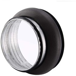 Thermoduct verloopstuk 200-125mm geisoleerd
