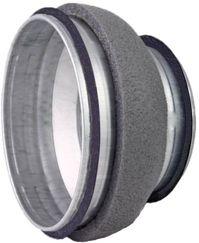 Thermoduct verloopstuk diameter 400-200mm geisoleerd