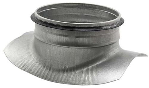 Thermoduct Zadelstuk 180 mm - 180 mm (90 graden)