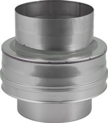 DW diameter  130 mm (130/180) Topstuk EW I316L/I304 (D0,5/0,6)