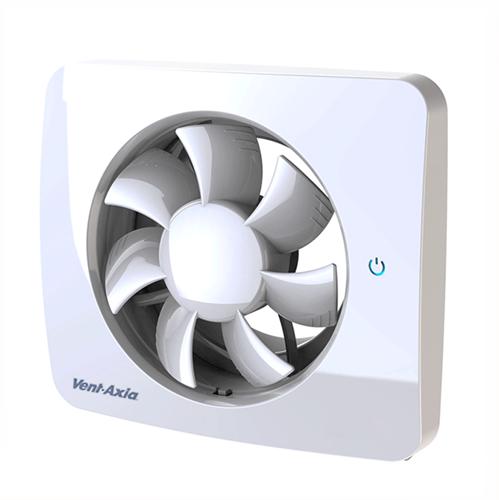 Badkamerventilator Svensa PureAir met geursensor 100-125mm