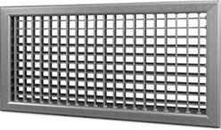 Wandrooster B-2-2 500x100-H instelbaar