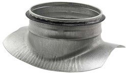 Spiro-SAFE zadelstuk dia 450 mm - met aftakking naar 200 mm (90 graden) (sendz. verz.)