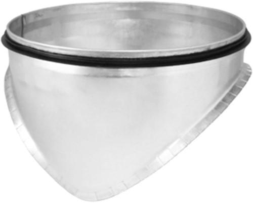 Spiro-SAFE zadelstuk dia 450mm diameter  180 mm (90 graden) (sendz. verz.)